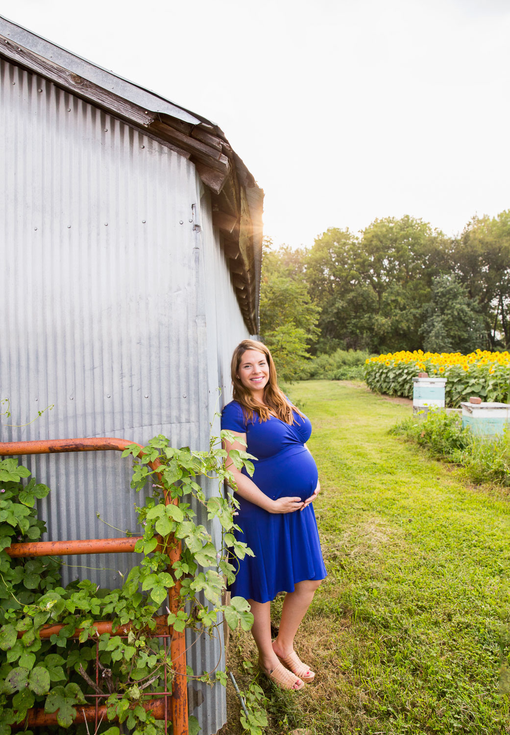 maternity photographer, leavenworth, kansas